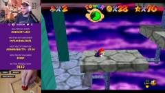 Napi büntetés: tudtátok, hogy akár egy gombbal is végigjátszható a Super Mario 64? kép
