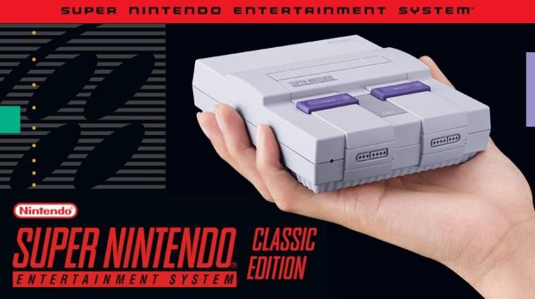 A SNES Classic trailere visszarepít minket a '90-es évekbe bevezetőkép