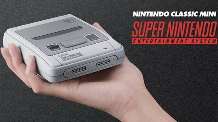 Az Egyesült Királyságban már el is fogyott az összes SNES Classic Mini bevezetőkép