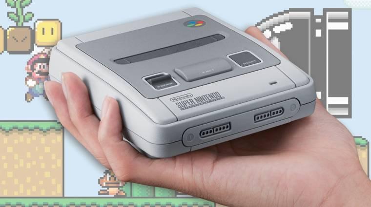 Új kényelmi funkciókat kap a Nintendo Classic Mini: SNES bevezetőkép