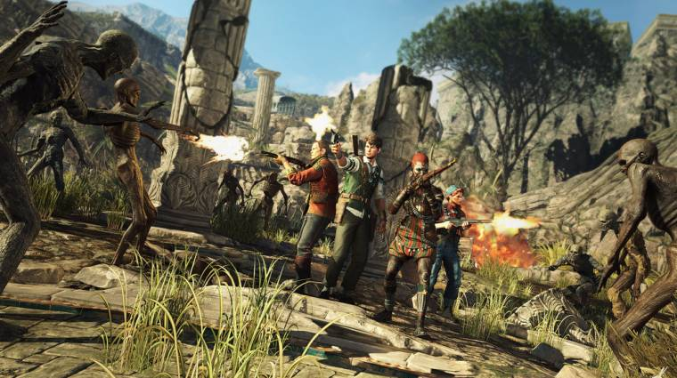 Strange Brigade megjelenés - nyáron jön a Sniper Elite fejlesztőinek új játéka bevezetőkép