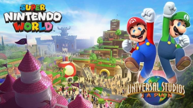 Kiderült, mikor nyílik meg az első Nintendo vidámpark bevezetőkép