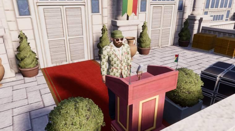 Kíméletlen tőzsdecápát csinál El Presidentéből az első Tropico 6 DLC bevezetőkép