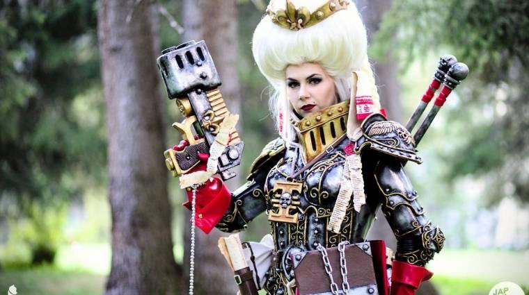 Egy magyar lány Warhammer cosplayén ámul a világ bevezetőkép