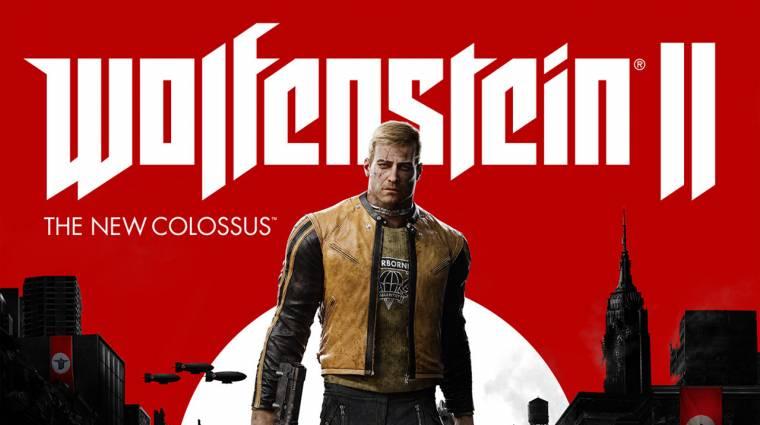 Wolfenstein II: The New Colossus - jön a művészeti album bevezetőkép