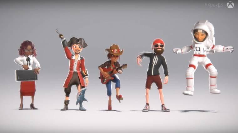 Egy kiszivárgott videó mutatja be az új Xbox Live avatarszerkesztőt bevezetőkép