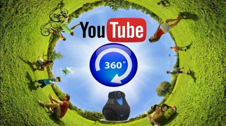 A YouTube megmondja, merre néznek a népek a 360 fokos videókban kép