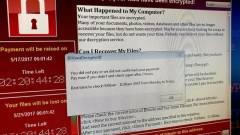 A WannaCry a Microsoftnak dolgozott kép