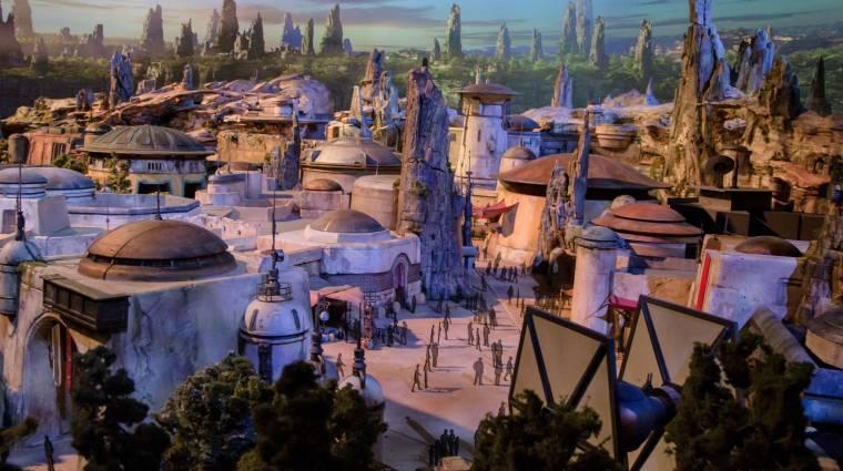 Oké, a Star Wars Land az a hely, ahol élni akarunk bevezetőkép