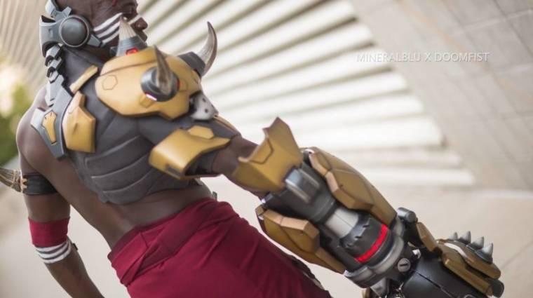 Overwatch - a Blizzard Doomfist cosplaye lenyűgöző bevezetőkép