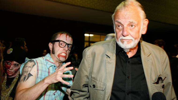 Felesége fejezi be George A. Romero utolsó zombis filmjét bevezetőkép