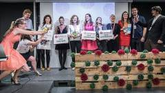 Különdíjat kapott a magyar csapat a női startup versenyen kép