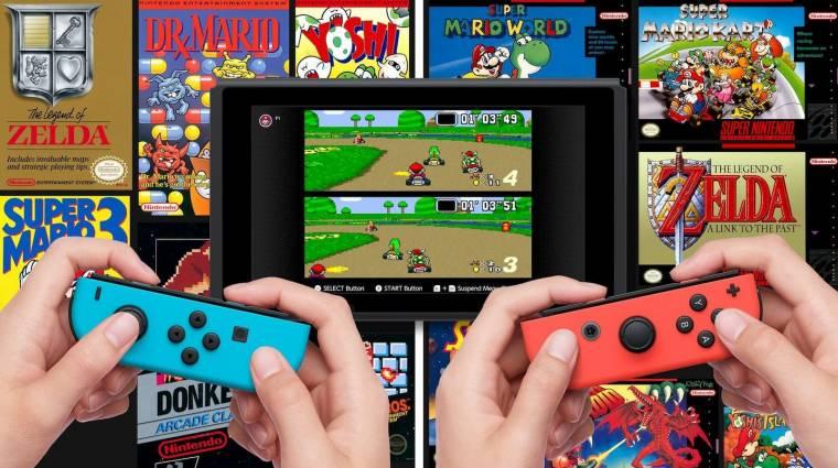 Nintendo Switch - mostantól kiszámíthatatlan lesz, mikor jönnek a retro játékok bevezetőkép