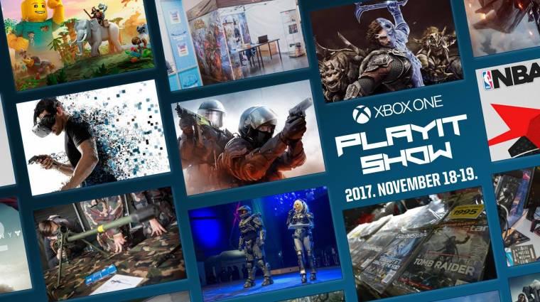 Ezek a programok már biztosan ott lesznek a novemberi Xbox One PlayIT Show-n! bevezetőkép