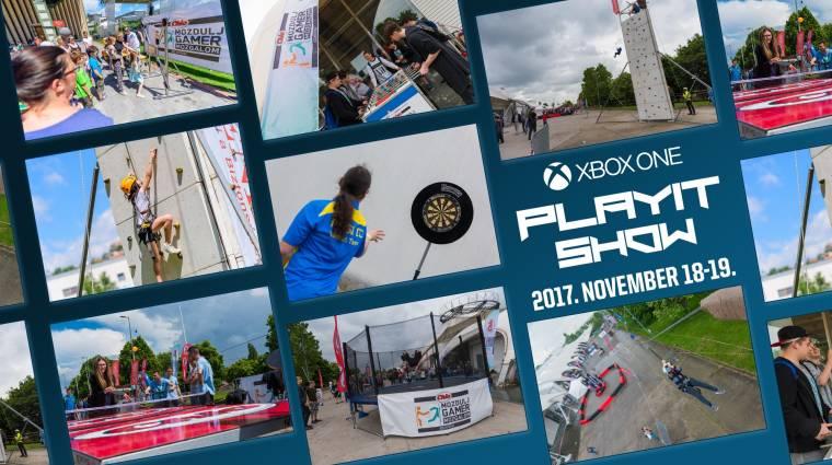 Ilyen Mozdulj Gamer programok várnak az Xbox One PlayIT Show-n bevezetőkép