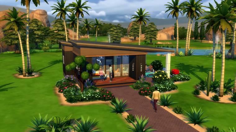 Mini otthonokat rendezhetünk be az új The Sims 4 csomaggal bevezetőkép