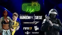 Rainbow Six: Siege, FIFA 17, Tekken 7 és Just Dance verseny is vár a következő GameNighton! kép