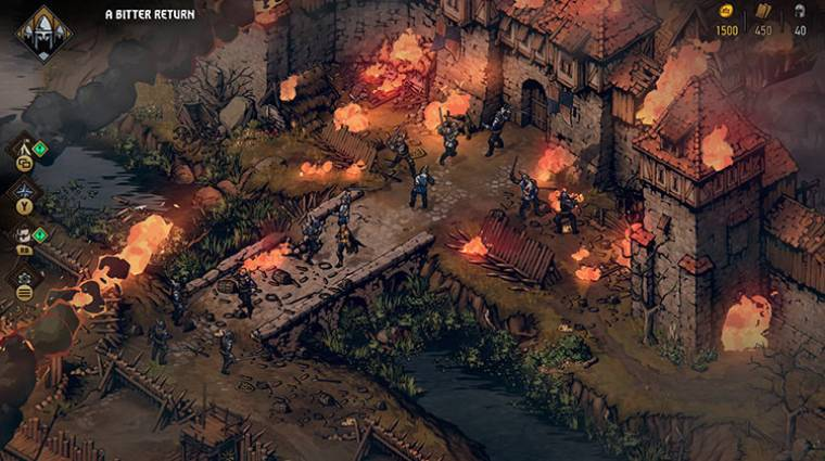 Thronebreaker: The Witcher Tales - megvan az ár, jött egy új előzetes bevezetőkép