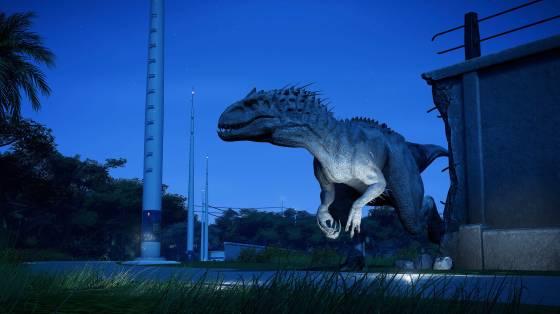 Jurassic World Evolution infódoboz