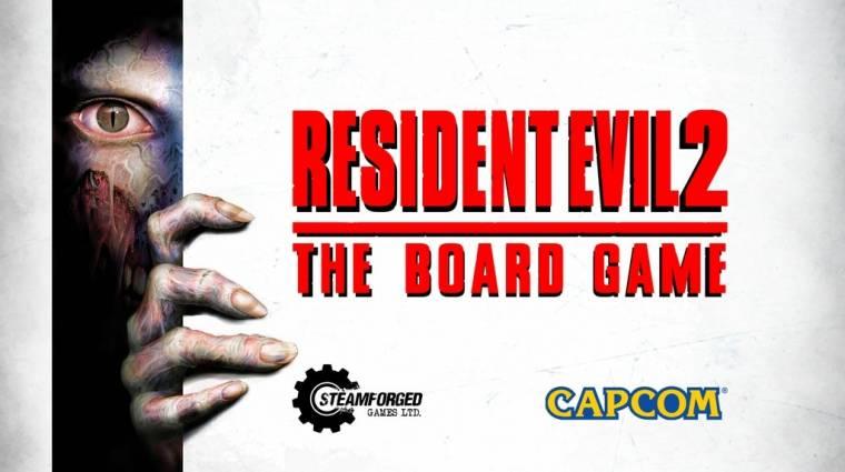 Hatalmas siker a Resident Evil 2 társasjáték Kickstarteren bevezetőkép