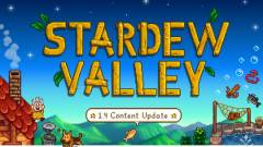 Még ebben a hónapban hatalmas frissítést kap a Stardew Valley kép