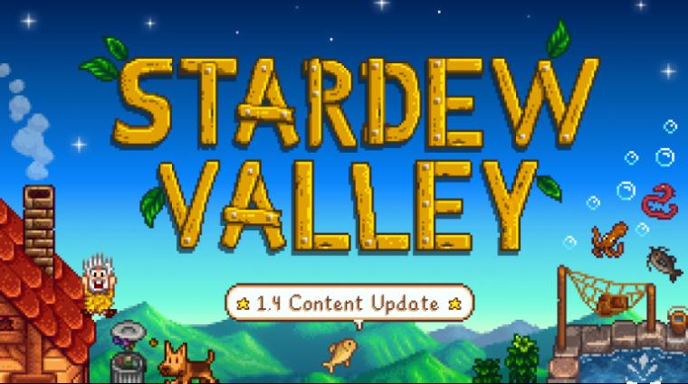 Még ebben a hónapban hatalmas frissítést kap a Stardew Valley bevezetőkép