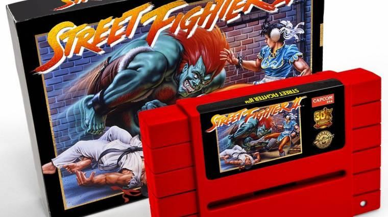 Így néz ki a 30. évfordulós, világító Street Fighter 2 kazetta bevezetőkép