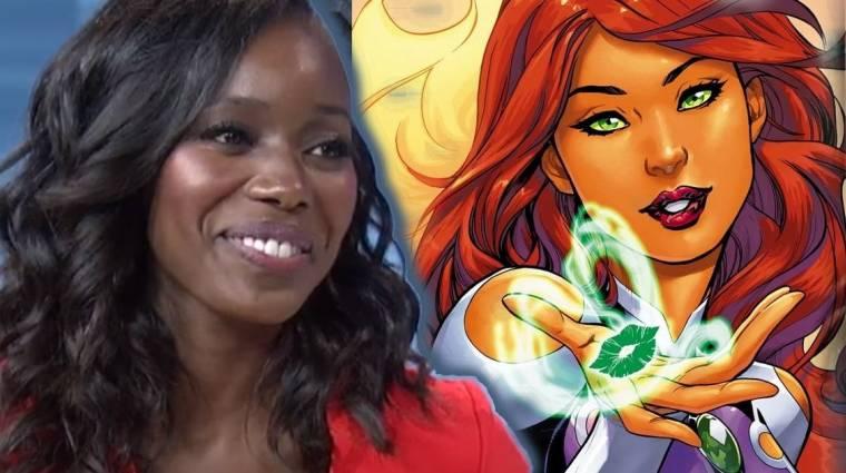 Ő lesz Starfire az élőszereplős Teen Titans sorozatban! kép
