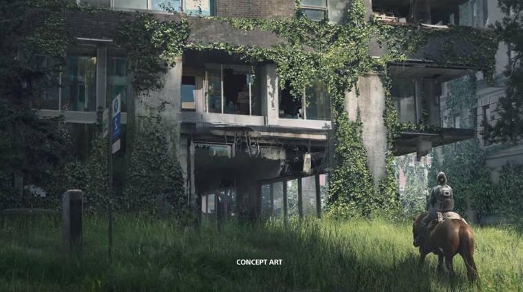 Már ezek a The Last of Us Part II artok is megalapozzák a nyomasztó hangulatot bevezetőkép