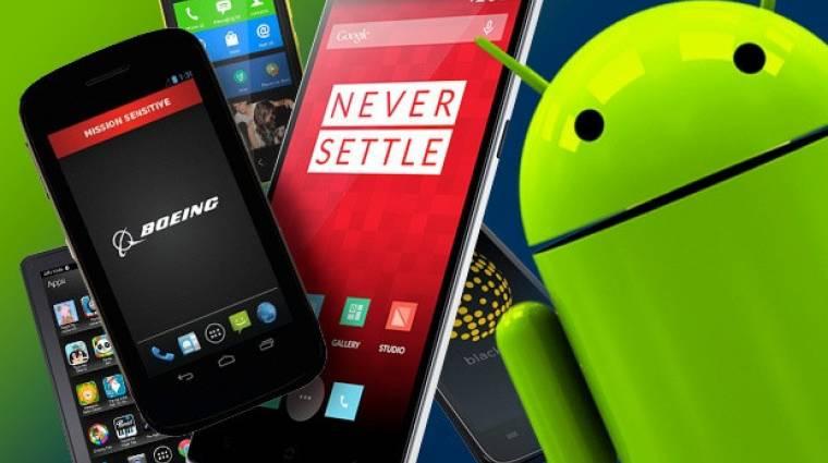 Örömhír androidosoknak