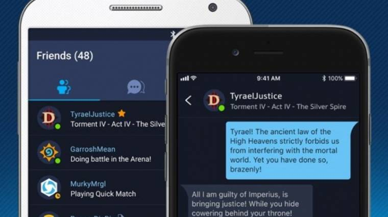 Megérkezett a Battle.net mobil app bevezetőkép