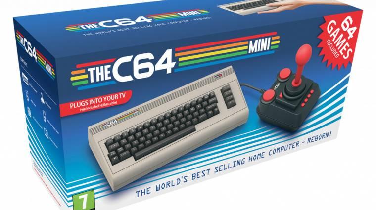 Hát persze, hogy a Commodore 64-ből is lesz minikonzol bevezetőkép