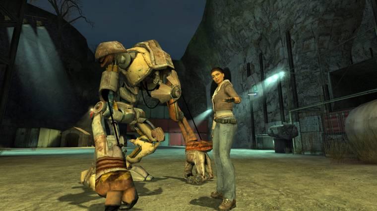 Íme a Half-Life 2 VR-ban, az Alyx motorjával bevezetőkép