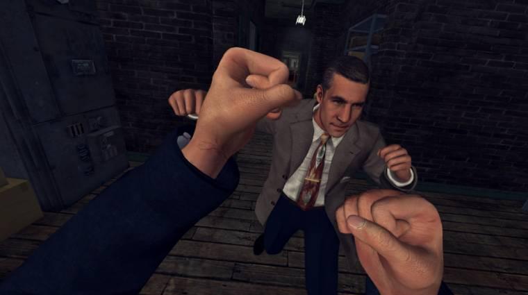 L. A. Noire - úgy néz ki, végre PS4-re is megjelenik a VR-os spin-off bevezetőkép