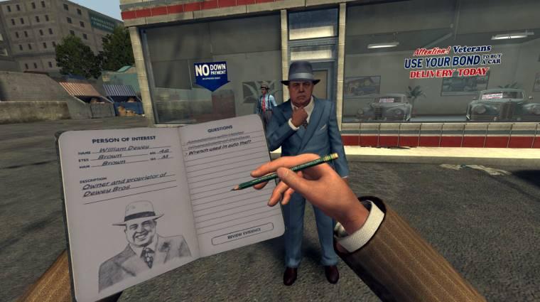 L.A. Noire: The VR Case Files - már PlayStation 4-en is testközelből nyomozhatunk bevezetőkép