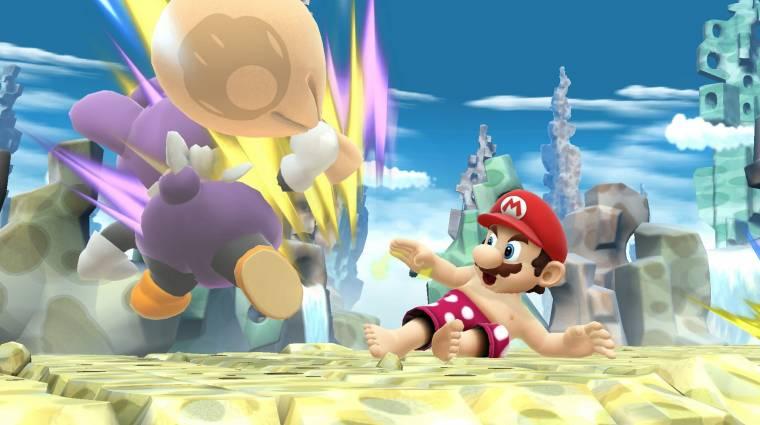 Már a Super Smashben is játszható a félmeztelen Mario bevezetőkép