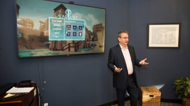 Így forradalmasítja a tantermeket az EA egykori fejlesztője bevezetőkép