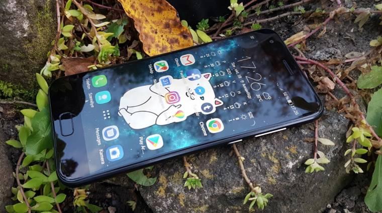 A mobil, amit fotóra találtak ki: ASUS Zenfone 4 teszt kép