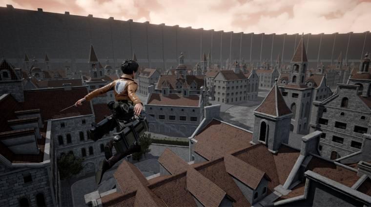 Már kipróbálható az Attack on Titan rajongói játék bevezetőkép