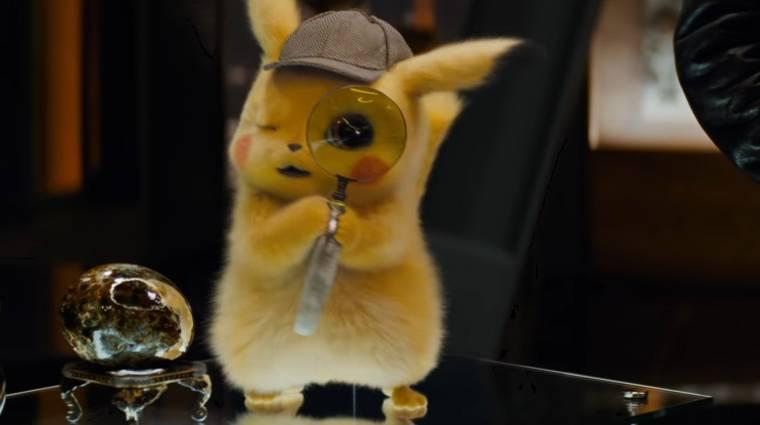 Dőlünk a röhögéstől a Pikachu, a detektív új trailerétől kép