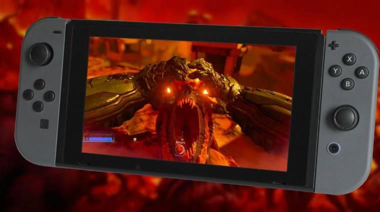Doom - legalább akadozni nem fog Switchen, ha már 60 fps-t nem tud bevezetőkép
