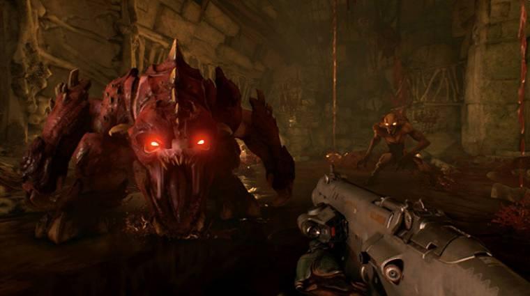 Doom - már mozgásérzékelővel is célozhatunk Nintendo Switchen bevezetőkép