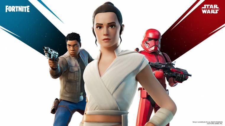Újabb Star Wars-skinek érkeztek a Fortnite-ba bevezetőkép