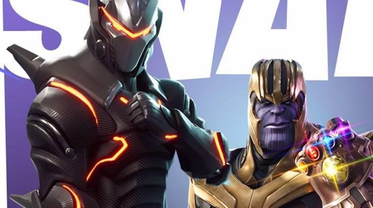 Fortnite: Battle Royale - érkezik Thanos, és vele a kesztyű bevezetőkép