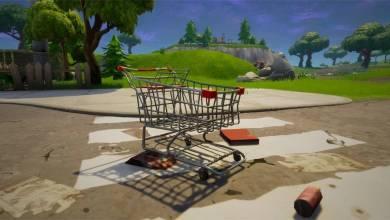 Fortnite: Battle Royale - következő frissítés ékköve a bevásárlókosár lesz