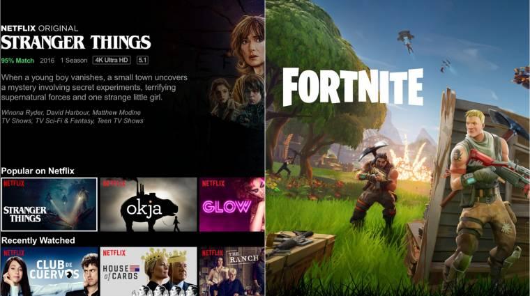 A Netflix jelentése szerint a Fortnite a legnagyobb versenytársuk bevezetőkép
