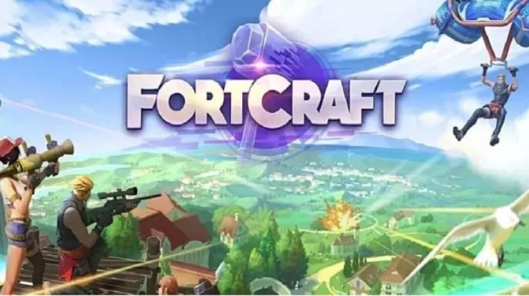 Kitaláljátok, melyik játékra hasonlít a nagyon kreatív nevű FortCraft? bevezetőkép