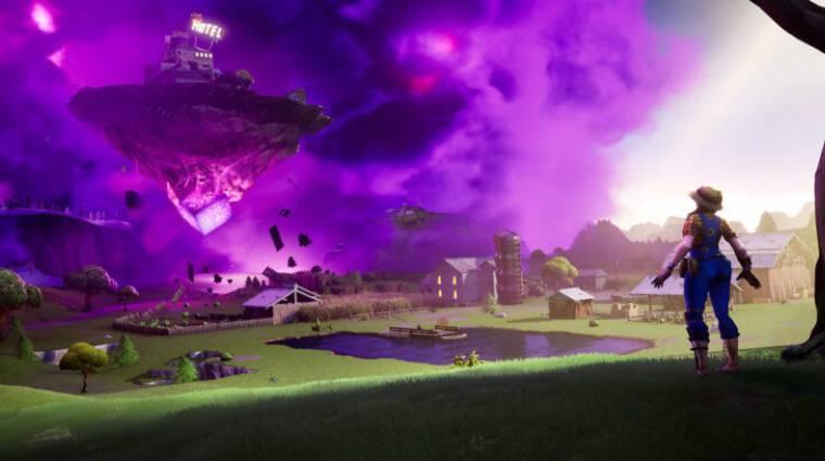 Fortnite - visszatért a lebegő sziget, bekerült a Zapper Trap bevezetőkép