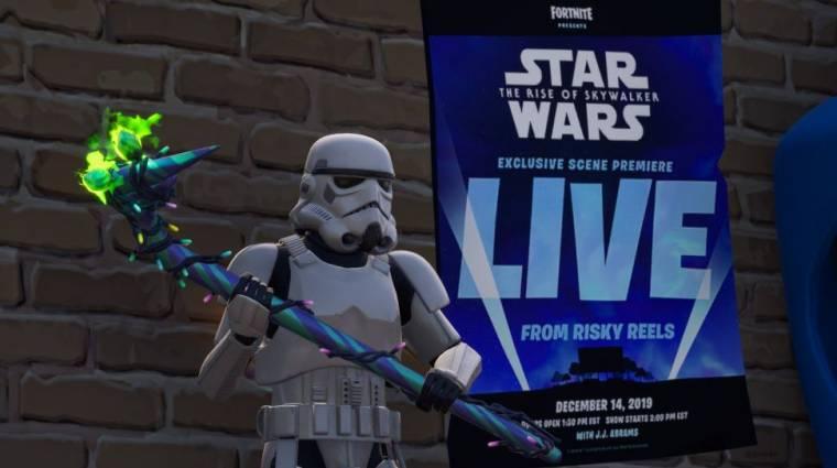 A Star Wars: Skywalker kora egyik új jelenete a Fortnite-ban debütál bevezetőkép