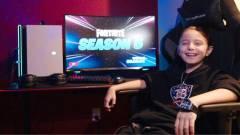 Nyolc éves és milliókat keres a Fortnite egyik profi játékosa kép